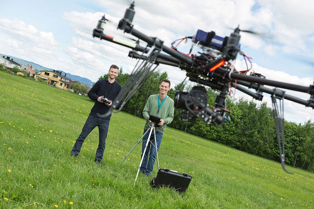 curso de piloto drones