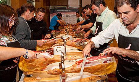 curso cortador de jamón gratis