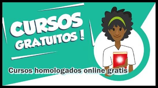 Cursos Online Homologados Gratis